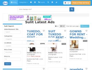 isulit.com.ph screenshot