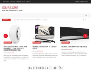 isurs.org screenshot