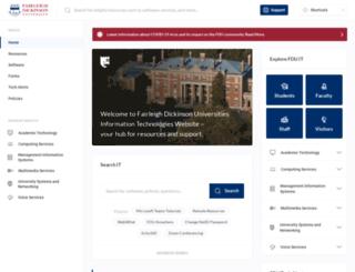 isweb.fdu.edu screenshot