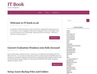 it-book.co.uk screenshot