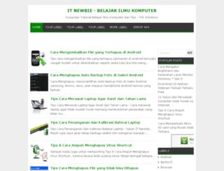 it-newbie.blogspot.com screenshot