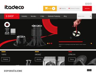 itadeco.cz screenshot