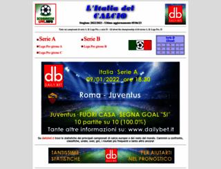 italiadelcalcio.it screenshot