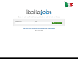 italiajobs.it screenshot