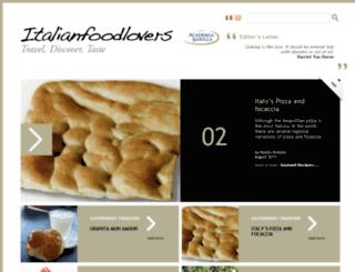 italian-food-lovers.com screenshot
