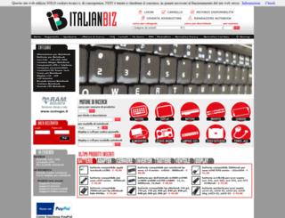 italianbiz.it screenshot