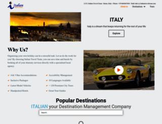 italiantravelteam.com screenshot