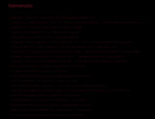 italmelodie.com screenshot