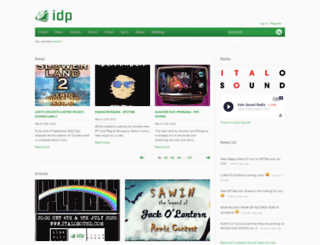 italodanceportal.com screenshot