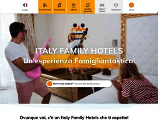 italyfamilyhotels.it screenshot