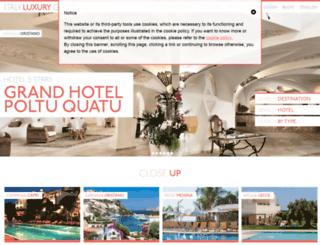italyluxuryhotel.it screenshot
