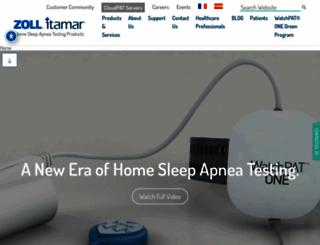 itamar-medical.com screenshot
