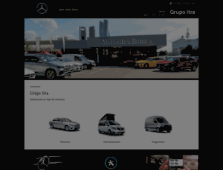 itarsa.mercedes-benz.es screenshot