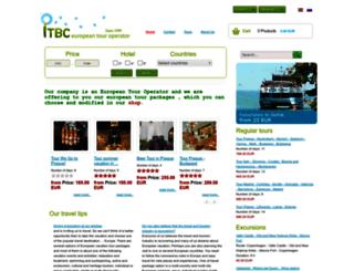 itbc.travel screenshot
