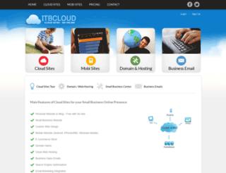itbcloud.com screenshot