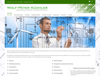 itd-kuechler.de screenshot