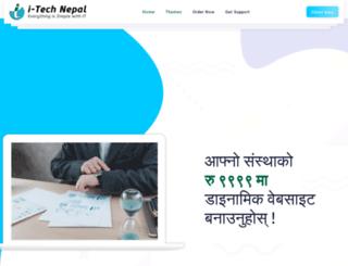 itechnepal.com.np screenshot