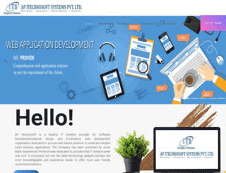 itechnosoft.in screenshot