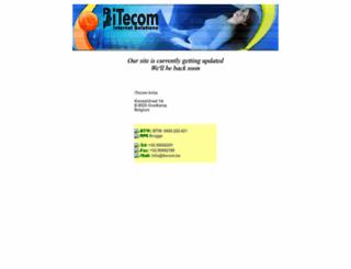 itecom.be screenshot
