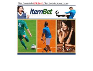 itembet.com screenshot