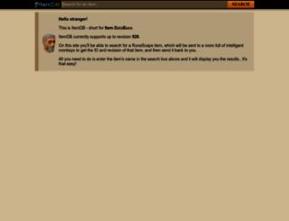 itemdb.biz screenshot