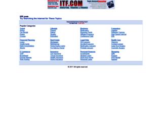 itf.com screenshot