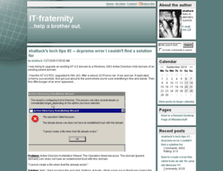 itfraternity.com screenshot