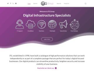 itg.uk.com screenshot