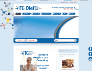 itgdiet.com screenshot
