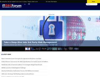 itgrcforum.com screenshot