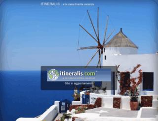 itineralis.com screenshot