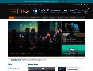 itnewsafrica.com screenshot