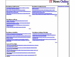 itnewsonline.com screenshot