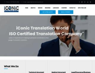 itranslationzone.com screenshot