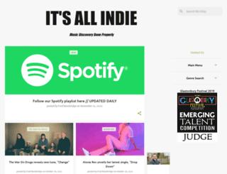 itsallindie.com screenshot