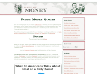 itsamoneything.com screenshot