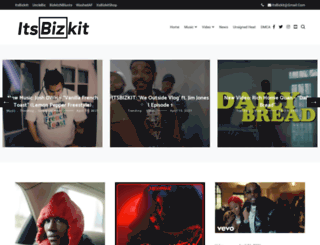 itsbizkit.com screenshot