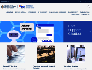 itsc.ust.hk screenshot