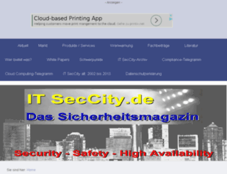 itseccity.org screenshot