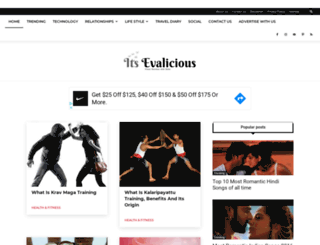 itsevalicious.com screenshot