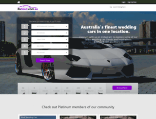 itshired.com.au screenshot