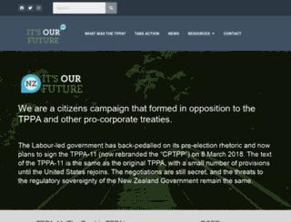 itsourfuture.org.nz screenshot