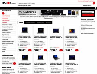itspot.com.au screenshot