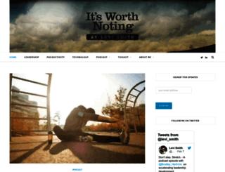 itsworthnoting.com screenshot