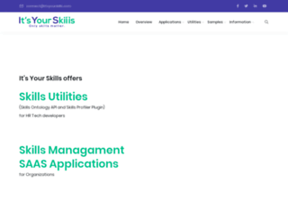 itsyourskills.com screenshot