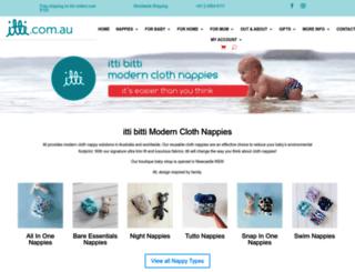 ittibitti.com.au screenshot