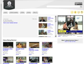 itv.ut.ac.id screenshot