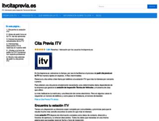 itvcitaprevia.es screenshot