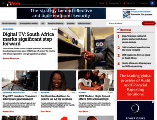 itweb.co.za screenshot