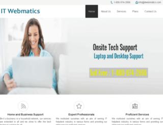 itwebmatics.com screenshot